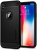 Spigen Case Rugged Armor for iPhone X Matt Black (057CS22125) рис.3