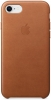 Apple iPhone 8 Leather Case (OEM) - Saddle Brown рис.1