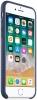 Apple iPhone 8 Leather Case (OEM) - Midnight Blue рис.2