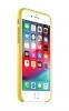Apple iPhone 8 Plus Leather Case (OEM) - Yellow рис.2