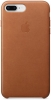 Apple iPhone 8 Plus Leather Case (OEM) - Saddle Brown рис.1