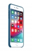 Apple iPhone 8 Plus Leather Case (OEM) - Cosmos Blue рис.2