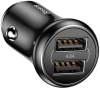 Baseus Gentleman 4.8A Dual-USB Car Charger Black (CCALL-GB01) рис.1