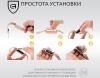 Ремешок ArmorStandart Силиконовый в два оборота для Xiaomi Mi Band 2 Black рис.7
