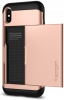 Spigen Case Slim Armor CS for iPhone X blush gold (057CS22157) рис.3