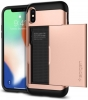 Spigen Case Slim Armor CS for iPhone X blush gold (057CS22157) рис.4