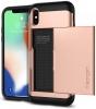 Spigen Case Slim Armor CS for iPhone X blush gold (057CS22157) мал.4