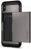 Spigen Case Slim Armor CS for iPhone X gun metal (057CS22156) рис.3