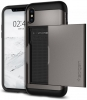 Spigen Case Slim Armor CS for iPhone X gun metal (057CS22156) рис.4