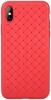 Чехол ArmorStandart Braid для iPhone X red мал.1