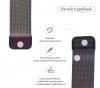 Armorstandart Milanese Loop Band для Apple Watch All Series 38-40mm Rainbow (ARM50695) мал.2
