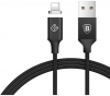 Baseus Insnap series magnetic cable For Lightning 1.2M Black (CALNP-01) рис.1