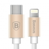 Baseus Gather Series Type-C to Apple Cable 1M Luxury gold (CATYPEC-AP0V) рис.1