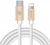 Baseus Gather Series Type-C to Apple Cable 1M Luxury gold (CATYPEC-AP0V) рис.3