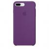 Apple iPhone 8 Plus Silicone Case (HC) - Purple рис.1