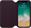 Apple iPhone X Leather Folio (OEM) - Dark Aubergine рис.3