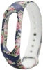 Xiaomi ремешок Mi Band 2 (Blue with flowers) рис.1