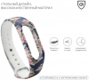 Xiaomi ремешок Mi Band 2 (Blue with flowers) рис.2