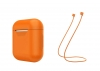Airpods Silicon case+straps orange (in box) рис.1