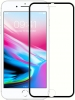 Full Glass 3D with metal frame for iPhone 8 plus/7 plus front+back Silver мал.1