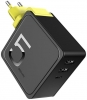 Rock Sugar 2-in-1 Power Bank and Wall Charger RMP0372 black мал.1