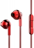 Baseus Times think Encok H03 drive-by-wire headphones Red (NGH03-09) мал.1