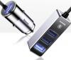 Baseus Enjoy Together Four Interfaces Output Patulous Car Charger 5.5A Black (CCTON-01) рис.1