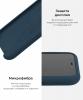Apple iPhone XS/X Silicone Case (OEM) - Cosmos blue рис.6