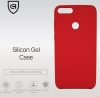 Huawei P smart TPU Soft Touch - Red рис.2