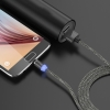 Magnetic Cable 3in1 Round Lighting+Micro+Type C Black рис.7