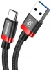 Baseus Golden Belt Series USB3.0 Cable Type-C Black+red (CATGB-1V) рис.2
