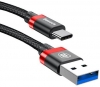 Baseus Golden Belt Series USB3.0 Cable Type-C Black+red (CATGB-1V) рис.3
