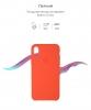Apple iPhone XS/X Silicone Case (OEM) - Spisy Orange рис.3
