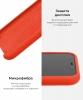 Apple iPhone XS/X Silicone Case (OEM) - Spisy Orange рис.6
