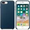 Apple iPhone 8 Plus Silicone Case (OEM) - Cosmos blue рис.3