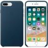 Apple iPhone 8 Plus Silicone Case (OEM) - Cosmos blue рис.4