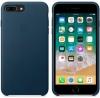 Apple iPhone 8 Plus Silicone Case (OEM) - Cosmos blue рис.5