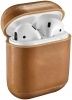 Vintage Leather Airpods Protective Case brown рис.1