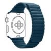 Armorstandart Leather Loop для Apple Watch All Series 38/40 mm Blue (ARM51669) мал.1