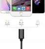 Magnetic Cable 3in1 with LED Lighting+Micro+Type C Black рис.5