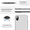 Apple iPhone XS/X Silicone Case (OEM) - Red Raspberry рис.3