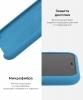 Apple iPhone XS/X Silicone Case (OEM) - Denim Blue рис.6