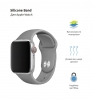 Apple Sport Band for Apple Watch 38mm/40mm Dark Grey (3 straps) рис.2