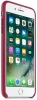 Leather Case Original for Apple iPhone 8 Plus (OEM) - Berry мал.3