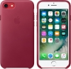 Apple iPhone 8 Leather Case (OEM) - Berry рис.2