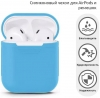 Airpods Silicon case+straps sky blue (in box) мал.2