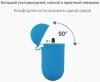 Airpods Silicon case+straps sky blue (in box) рис.4