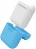 Airpods Silicon case+straps sky blue (in box) рис.6