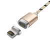 Baseus Insnap series magnetic cable For Lightning 1M Rose Gold (CAMCLH-ALF0R) рис.1