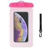 Waterproof case universal pink рис.1